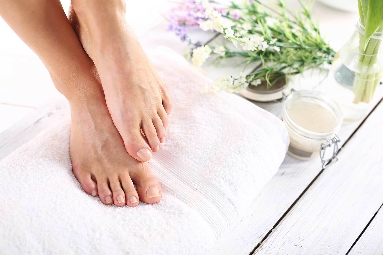 Certified Organic Ingredients Pedicure